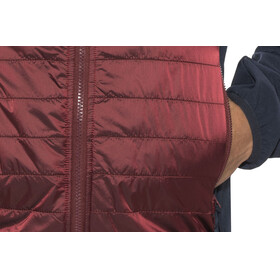 Meru M's Saskatoon Hybrid Jacket Merlot